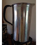 Selandia Water Pitcher Stainless Steel 1 Quart 18/8 Woven Black Handle - $29.99