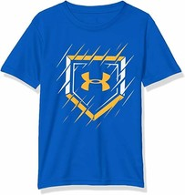 NWT Under Armour Boys Fashion T-Shirt Youth Tee Logo Various Size & Colors  - $13.99