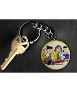 Peanuts Gang Schroeder Charlie Brown Peanuts by Schulz Key Chain KEYCHAIN - €5,82 EUR