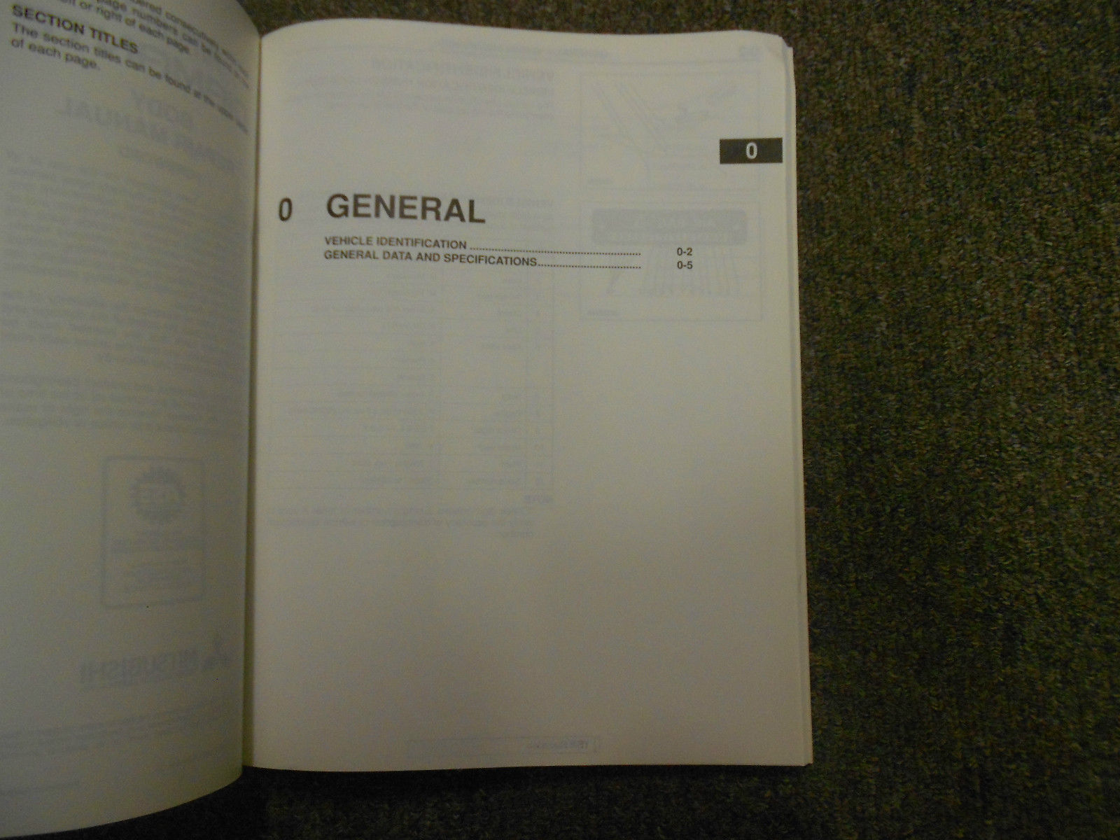 1997 MITSUBISHI Diamante Body Repair Service Shop Manual FACTORY OEM BOOK 97