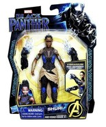 """Marvel BLACK PANTHER - SHURI Action FIGURE 6"""" Age 4+ ~ New in Package - $14.84"""