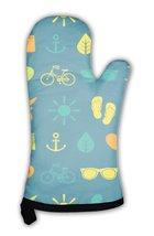 Oven Mitt, Summer Theme Pattern - $24.50+