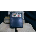 Mexico Leather BI-FOLD Wallet Holder Credit Card ID Holder Gift  - $12.95