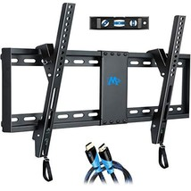 Mounting Dream Tilt TV Wall Mount Bracket for Most 37-70 Inches TVs, TV Mount wi