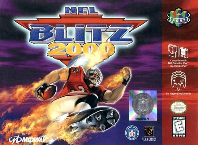 NFL Blitz 2000 N64 Great Condition Fast Shipping