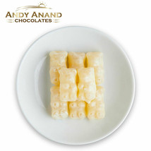 Andy Anand White Chocolate Gummy Bear Gift Box 1 lbs With Free Air Shipping - $34.84