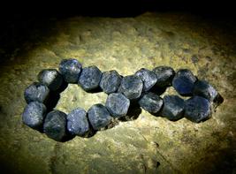 QUEENLY BLUE HEALER DJINN Spiritual Grounding Sapphires Bracelet izida h... - $444.00