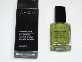 Avon Nailwear Pro + Vernis à Ongles Absinthe 12 ML 0.4 Fl oz à Mani Pedi - $10.61
