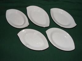 "6 Noritake Reina Individual Ashtrays or Butter Plates 5"" x 2 7/8"" - $19.95"