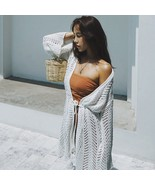New Arrival White Lace Beach Swimsuits Cover Up Loose Female Tops Bikini... - $26.88