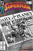 The Adventures of Superman Comic Book #451 DC Comics 1989 NEAR MINT UNREAD - $2.99