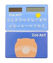 Creative Solar Calculator Cute Mini Calculator, Blue - $12.86