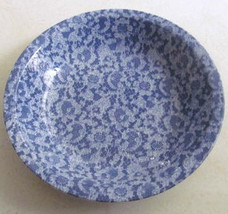 W BACH Lace Design Style Bowl English Stoneware Made In Japan - $15.99