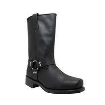 Men's Harness Boot-PU Insole Motorcycle Boot Biker Apparel by Daniel Sma... - $149.95