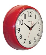 Westclox 32042R 9.5-Inch Retro 1950s Kitchen Wall Clock - $27.50