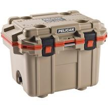 PELICAN 30Q-2-TANORG 30-Quart Elite Cooler (Tan with Orange Trim) - $406.32
