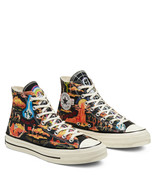 Converse Mens Chuck 70 Hi Twisted Resort 167761C Black/Multi/Egret NWB U... - £51.37 GBP