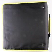 "NEW Five Star Zipper Binder + Tech Pocket, 2"", Yellow Black, 12-3/4"" x 12"" NWT image 2"
