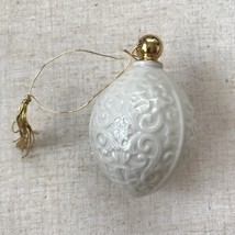 1989 Lenox China Christmas ornament - $25.00