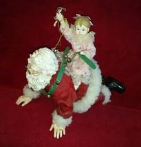 RARE Possible Dreams 1993 Limited Edition Granda Santa's Piggy-Back 0944... - $69.99