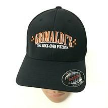 NEW FlexFit Pizzeria Hat Black Baseball Cap Ventilated Size S/M Brick Ov... - $15.14