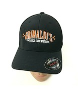 NEW FlexFit Pizzeria Hat Black Baseball Cap Ventilated Size S/M Brick Ov... - $17.31