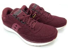 Saucony Freedom Runner Men's Running Shoes Size 9 M EU 42.5 Burgundy S40005-3