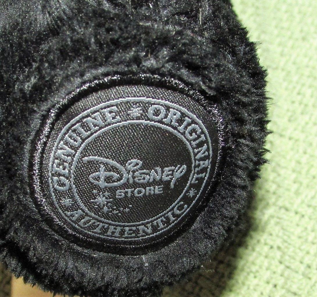 "HUBERT BRAVE Disney Store Plush Black Bear 13"" Cub Stuffed Animal Triplet Toy"