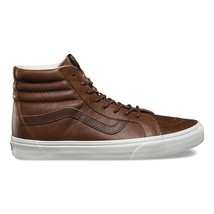 VANS SK8 Hi Reissue (Leather) Dachshund Potting Soil Brown Womens Size 8 - $74.95