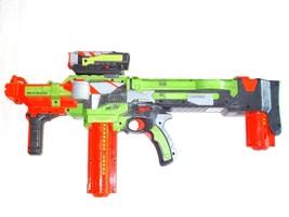 Nerf Nitron Vortex Soft Dart Gun w/Scope 2 Clips & 28 Discs motorized *T... - $39.99