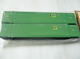 Jacksonville Terminal Company # 537053 EMP (GREEN) 53' Container  N-Scale image 1