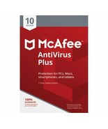 McAfee Antivirus Plus 2019 Multi Users Download Global Activation - $12.50+