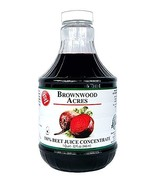 Beet Juice Concentrate by Brownwood Acres/FruitFast (32 Ounce) - $29.95