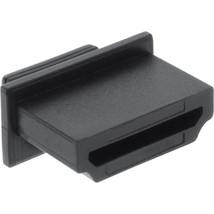 10er Pack InLine® Staubschutz, Staubschutzkappe für HDMI Buchse, schwarz 59948 - $5.85
