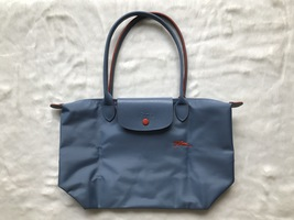 Franc Longchamp Le Pliage Club Collection Horse Embroidery Small Tote Li... - $95.00
