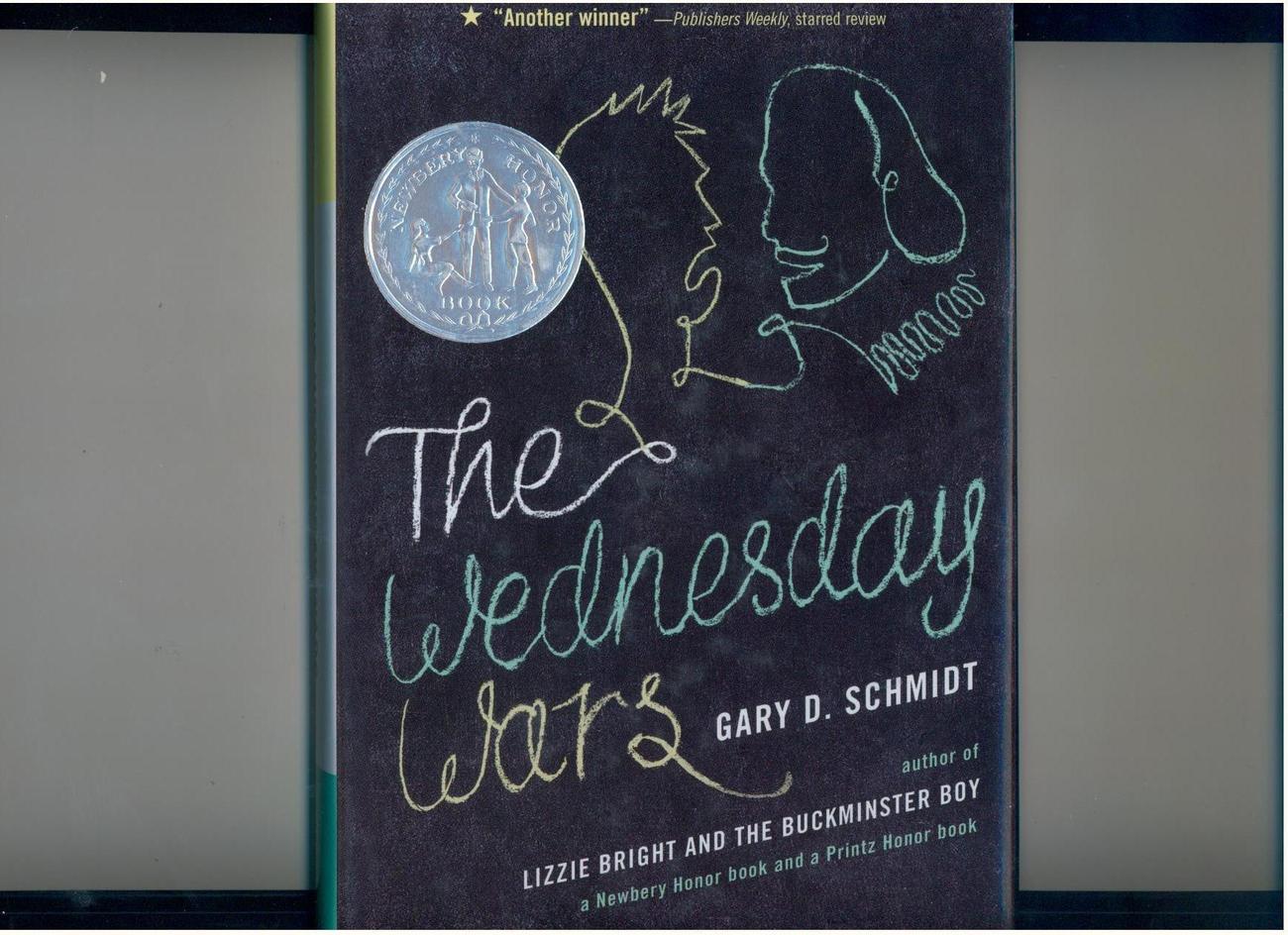 Gary D. Schmidt--WEDNESDAY WARS--2007--signed copy--Newbery Honor Book