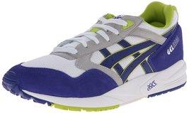 ASICS Gel-saga Retro Running Shoe, White/Dark Blue, 5.5 M US - $79.63