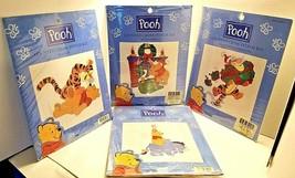 4 POOH Counted Cross Stitch Kit SANTA POOH 34012 & More > 34016, 34006, 34020 - $30.69