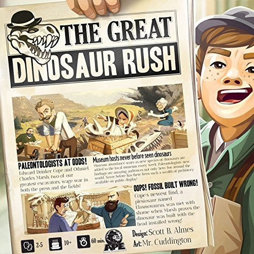 The Great Dinosaur Rush Board Game APE Games