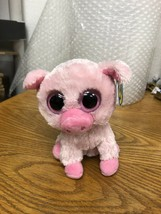 TY Beanie Boos 2011 New Tags Corky Pig 6-Inch Plush - $19.99