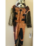 Kids costume Raccoon Rocket  Guardian of the Galaxy size medium 8-10 - $15.00