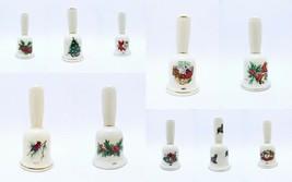 ORIGINAL Vintage 1970s + 1980s Ceramic Christmas Bells - $98.99