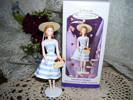 HALLMARK ORNAMENT BARBIE SUBURBAN SHOPPER MIDGE MIB - $18.69