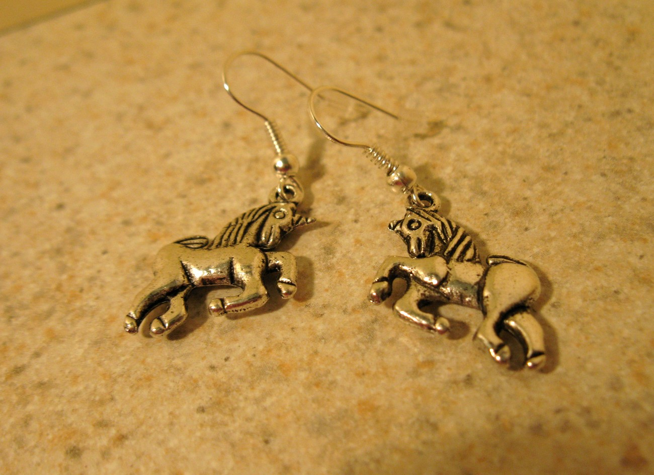 434 horse earrings