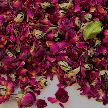 Bulk Dried Red Rose Petals and Buds - 1 lb. - $21.88