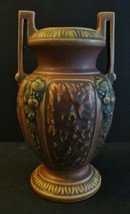 ANTIQUE ROSEVILLE OHIO ART POTTERY FLORENTINE HANDLE VASES 1916 ARTS CRA... - $85.48