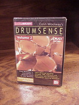 Colin Woolway's Drumsense Volume 2 DVD, Drum Instruction, new, sealed bu... - $9.95