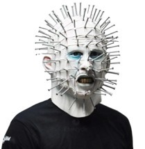 Scary Pinhead Masks Hellraiser Movie Cosplay Latex Adult Party Masks for... - $43.49 CAD