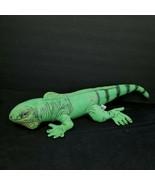"Iguana Plush Realistic Stuffed Animal Reptile Green Lizard 19"" Long Dete... - $21.77"