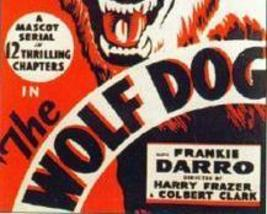 THE WOLF DOG, 12 CHAPTER SERIAL, 1933 - $19.99